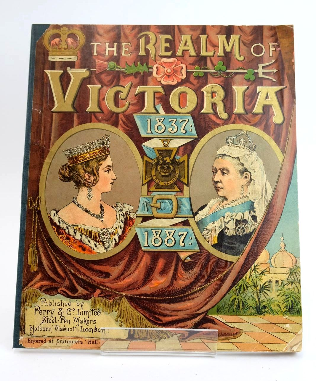 Photo of THE REALM OF VICTORIA 1837-1887- Stock Number: 1319273