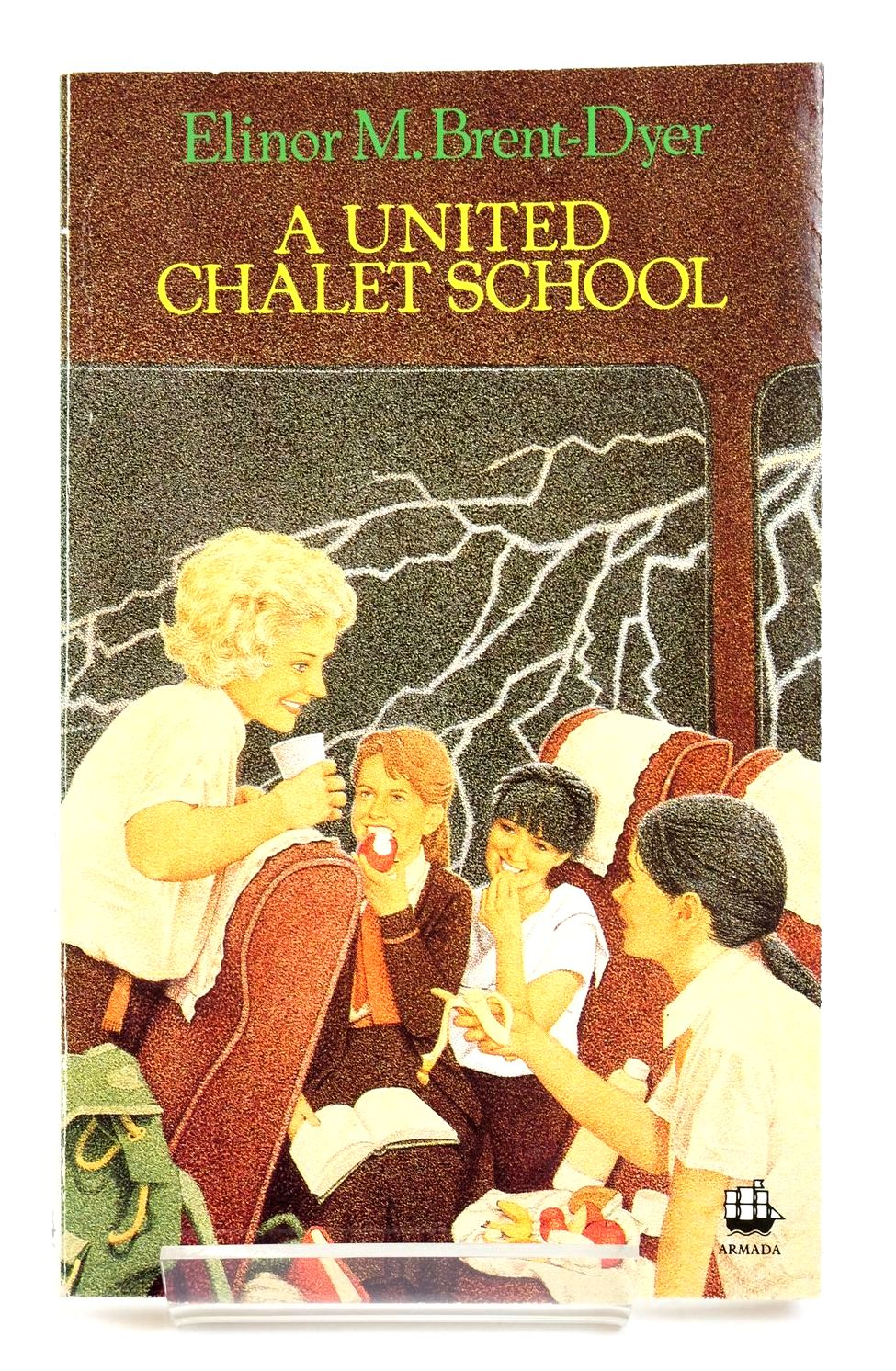 Photo of A UNITED CHALET SCHOOL written by Brent-Dyer, Elinor M. published by Armada (STOCK CODE: 1319285)  for sale by Stella & Rose's Books