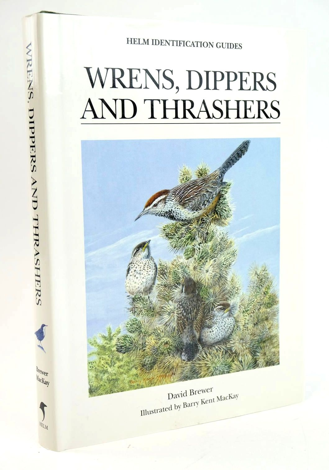 Photo of WRENS, DIPPERS AND THRASHERS (HELM IDENTIFICATION GUIDES) written by Brewer, David illustrated by Mackay, Barry Kent published by Christopher Helm (STOCK CODE: 1319289)  for sale by Stella & Rose's Books