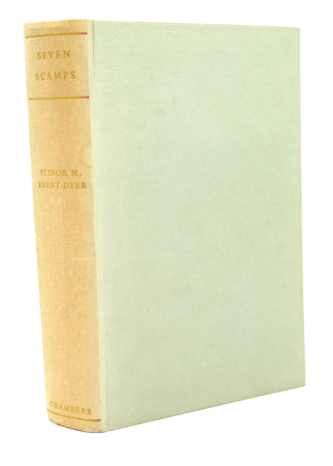 Photo of SEVEN SCAMPS written by Brent-Dyer, Elinor M. published by W. & R. Chambers Limited (STOCK CODE: 1319300)  for sale by Stella & Rose's Books