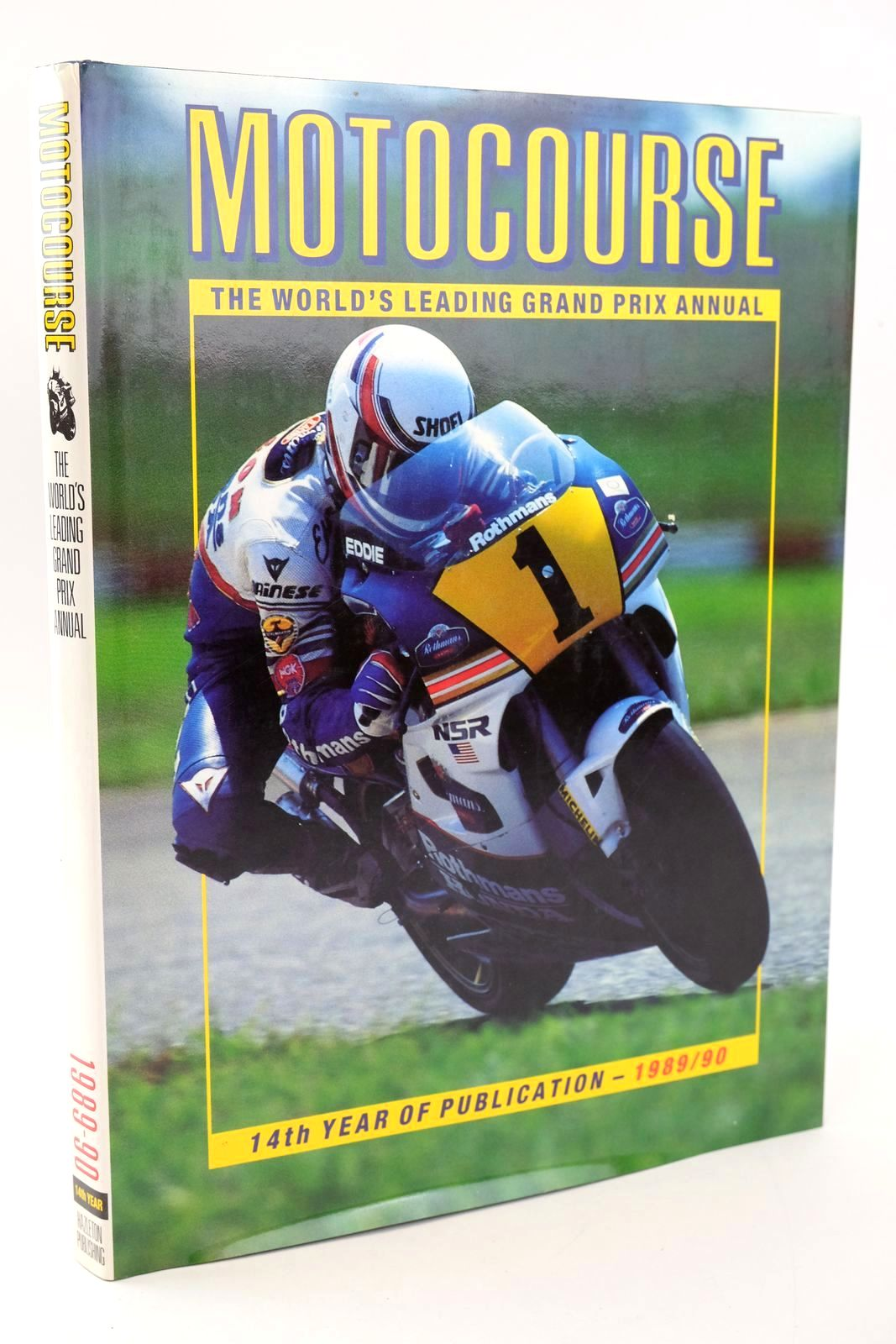 Photo of MOTOCOURSE 1989-90 written by Clifford, Peter published by Hazleton Publishing (STOCK CODE: 1319320)  for sale by Stella & Rose's Books