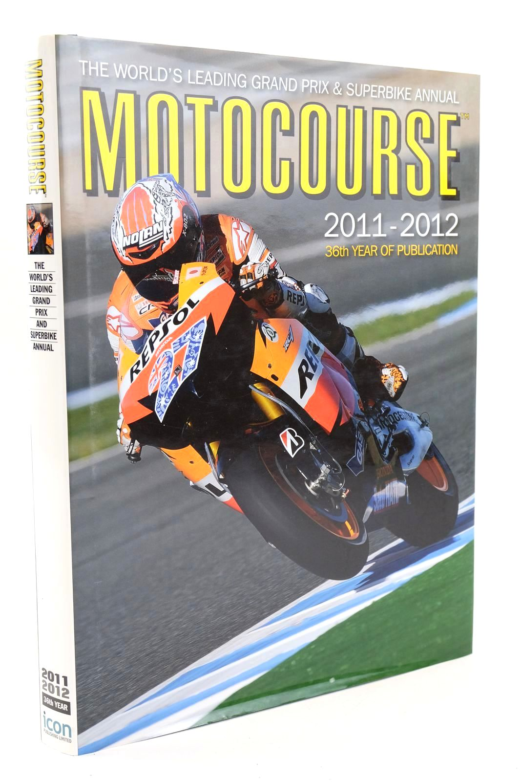 Photo of MOTOCOURSE 2011-2012 published by Icon Publishing Limited (STOCK CODE: 1319321)  for sale by Stella & Rose's Books