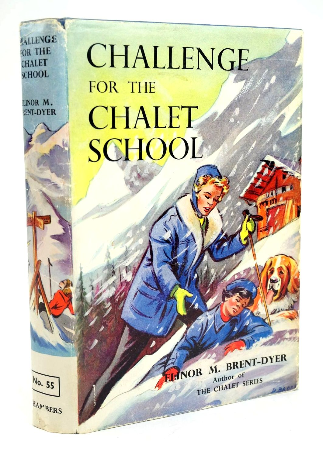 Photo of CHALLENGE FOR THE CHALET SCHOOL written by Brent-Dyer, Elinor M. published by W. & R. Chambers Limited (STOCK CODE: 1319334)  for sale by Stella & Rose's Books