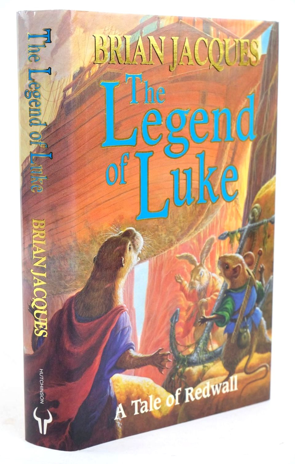 Photo of THE LEGEND OF LUKE written by Jacques, Brian illustrated by Fangorn,  published by Hutchinson (STOCK CODE: 1319400)  for sale by Stella & Rose's Books