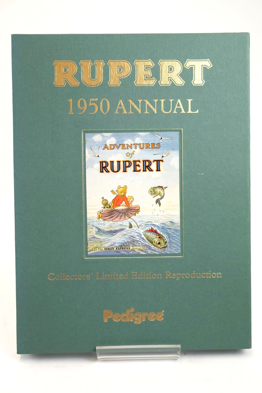 Photo of RUPERT ANNUAL 1950 (FACSIMILE) - ADVENTURES OF RUPERT written by Bestall, Alfred illustrated by Bestall, Alfred published by Pedigree Books Limited (STOCK CODE: 1319406)  for sale by Stella & Rose's Books