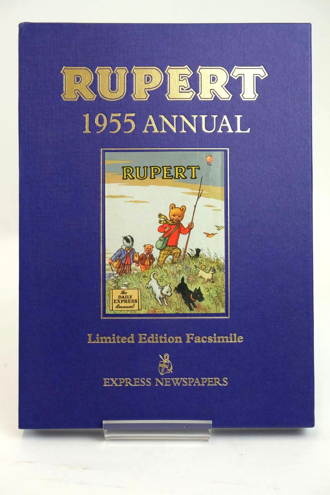 Photo of RUPERT ANNUAL 1955 (FACSIMILE) written by Bestall, Alfred illustrated by Bestall, Alfred published by Express Newspapers Ltd. (STOCK CODE: 1319407)  for sale by Stella & Rose's Books