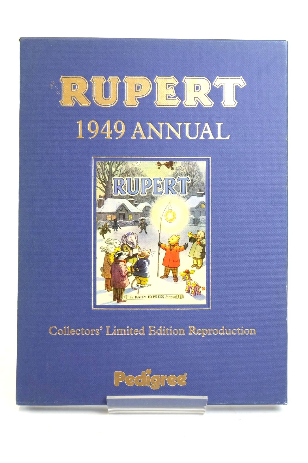Photo of RUPERT ANNUAL 1949 (FACSIMILE) written by Bestall, Alfred illustrated by Bestall, Alfred published by Pedigree Books Limited (STOCK CODE: 1319408)  for sale by Stella & Rose's Books