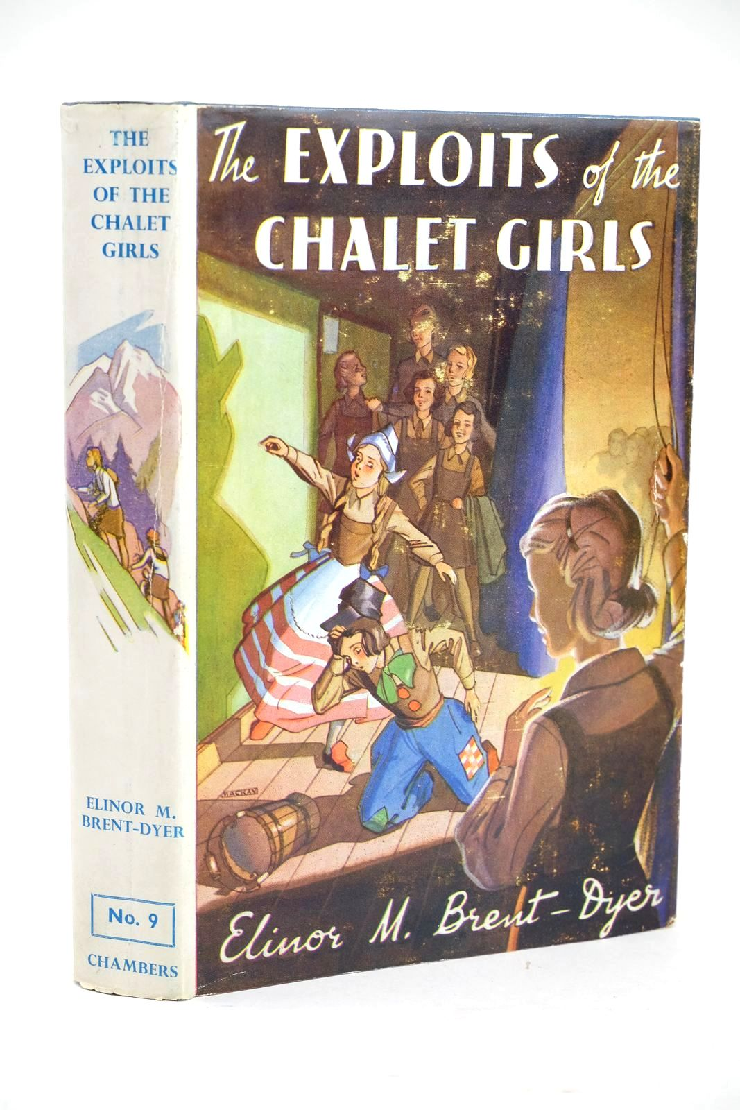 Photo of THE EXPLOITS OF THE CHALET GIRLS- Stock Number: 1319433