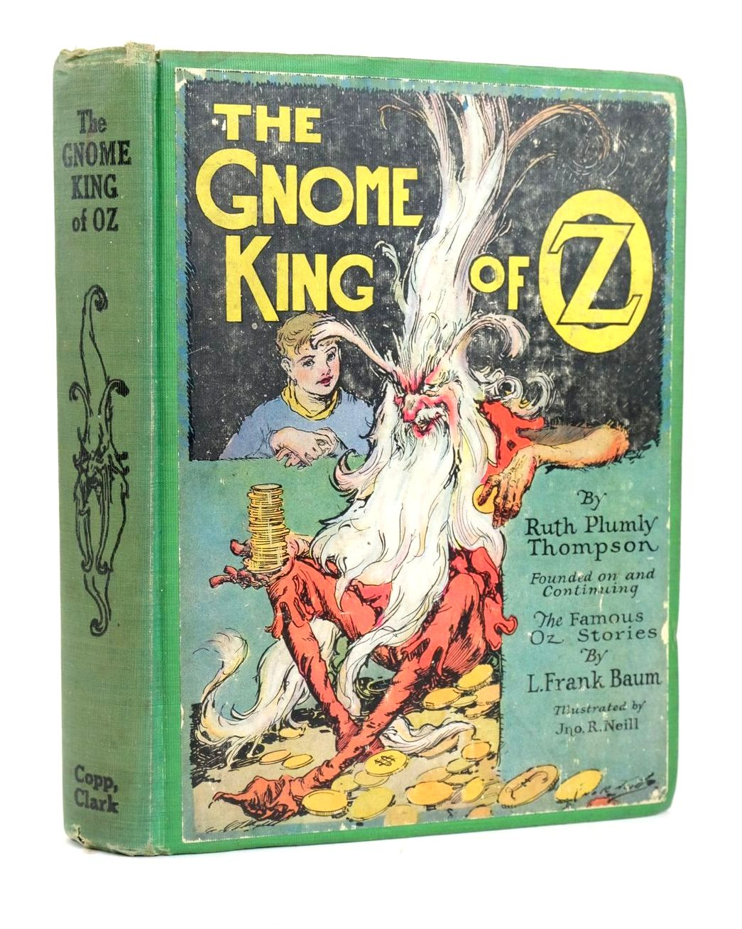Photo of THE GNOME KING OF OZ written by Baum, L. Frank Thompson, Ruth Plumly illustrated by Neill, John R. published by The Copp Clark Co. Limited (STOCK CODE: 1319449)  for sale by Stella & Rose's Books