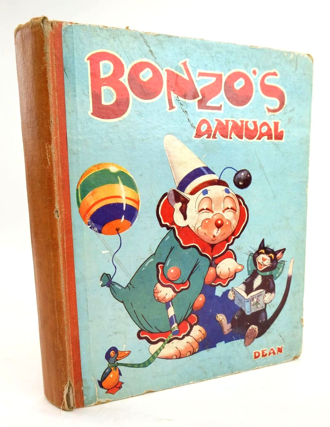 Photo of BONZO'S ANNUAL 1937 written by Studdy, G.E. published by Dean & Son Ltd. (STOCK CODE: 1319452)  for sale by Stella & Rose's Books