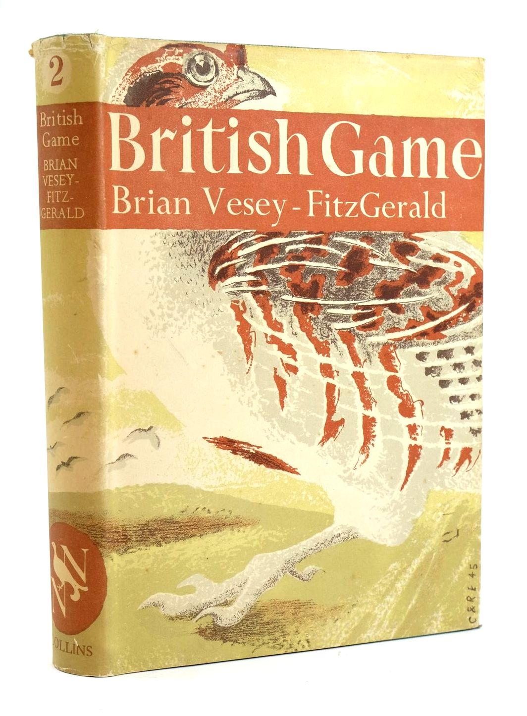 Photo of BRITISH GAME (NN 2) written by Vesey-Fitzgerald, Brian published by Collins (STOCK CODE: 1319460)  for sale by Stella & Rose's Books
