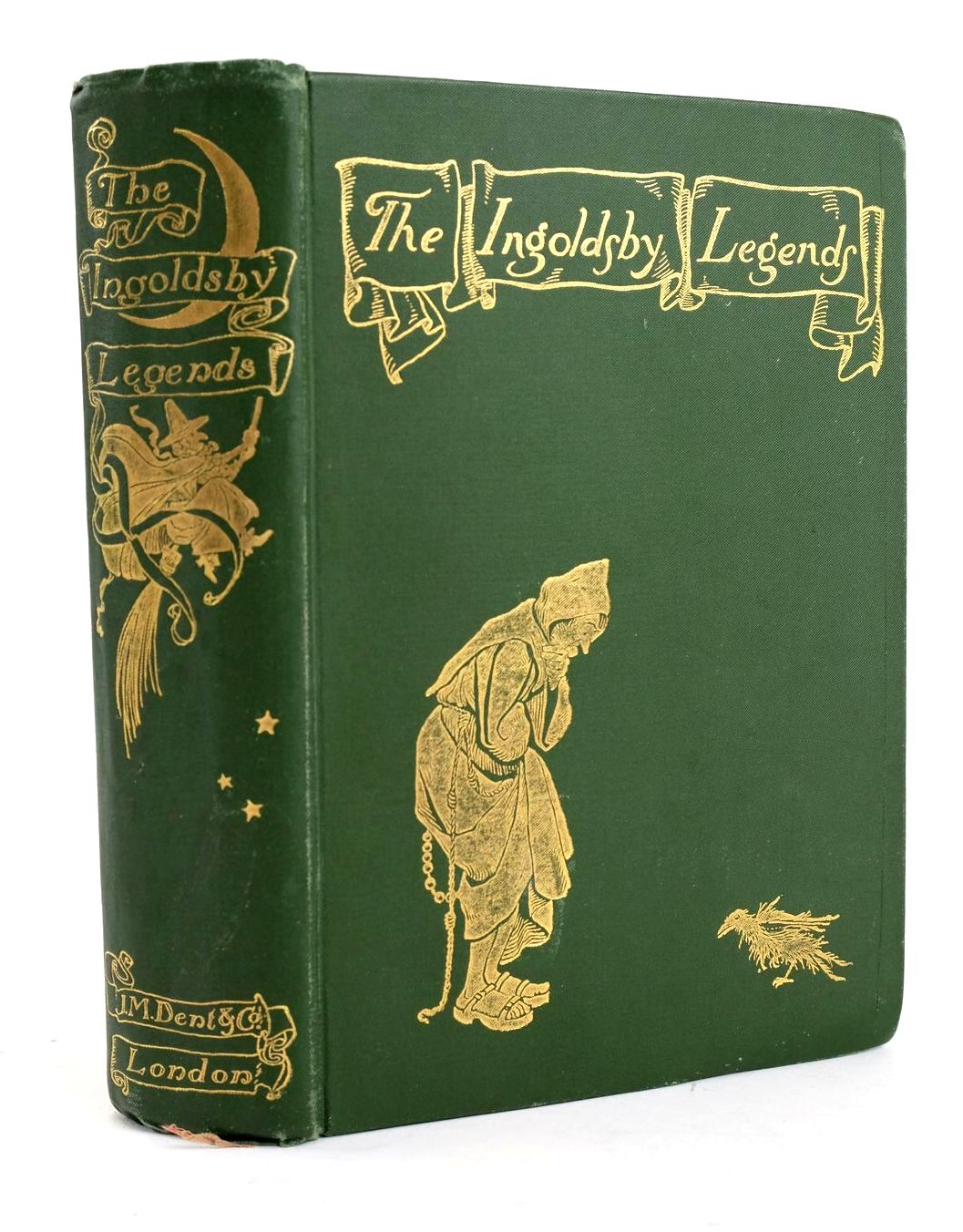 Photo of THE INGOLDSBY LEGENDS written by Ingoldsby, Thomas illustrated by Rackham, Arthur published by J.M. Dent & Co. (STOCK CODE: 1319477)  for sale by Stella & Rose's Books