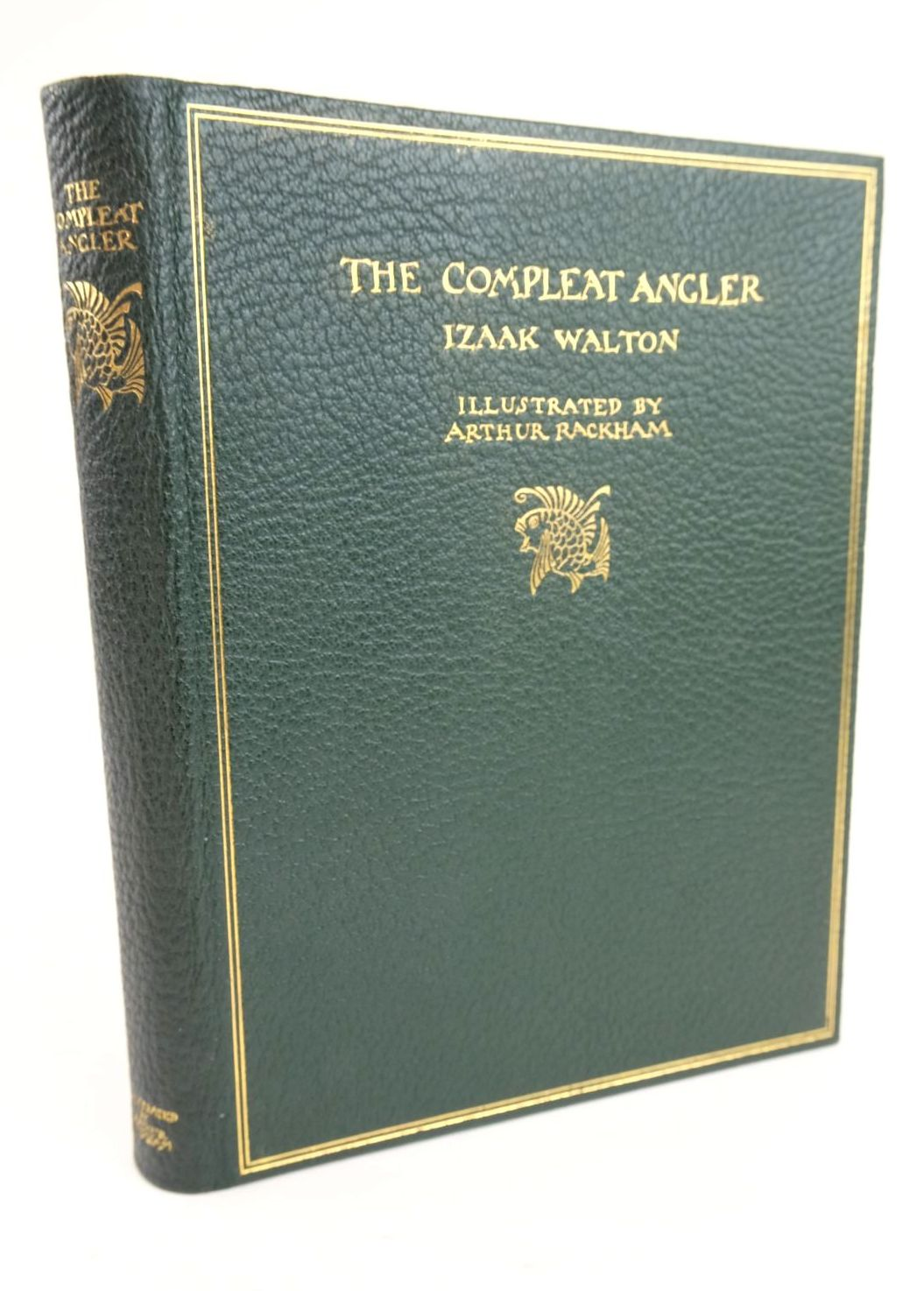 Photo of THE COMPLEAT ANGLER written by Walton, Izaak illustrated by Rackham, Arthur published by George G. Harrap & Co. Ltd. (STOCK CODE: 1319481)  for sale by Stella & Rose's Books