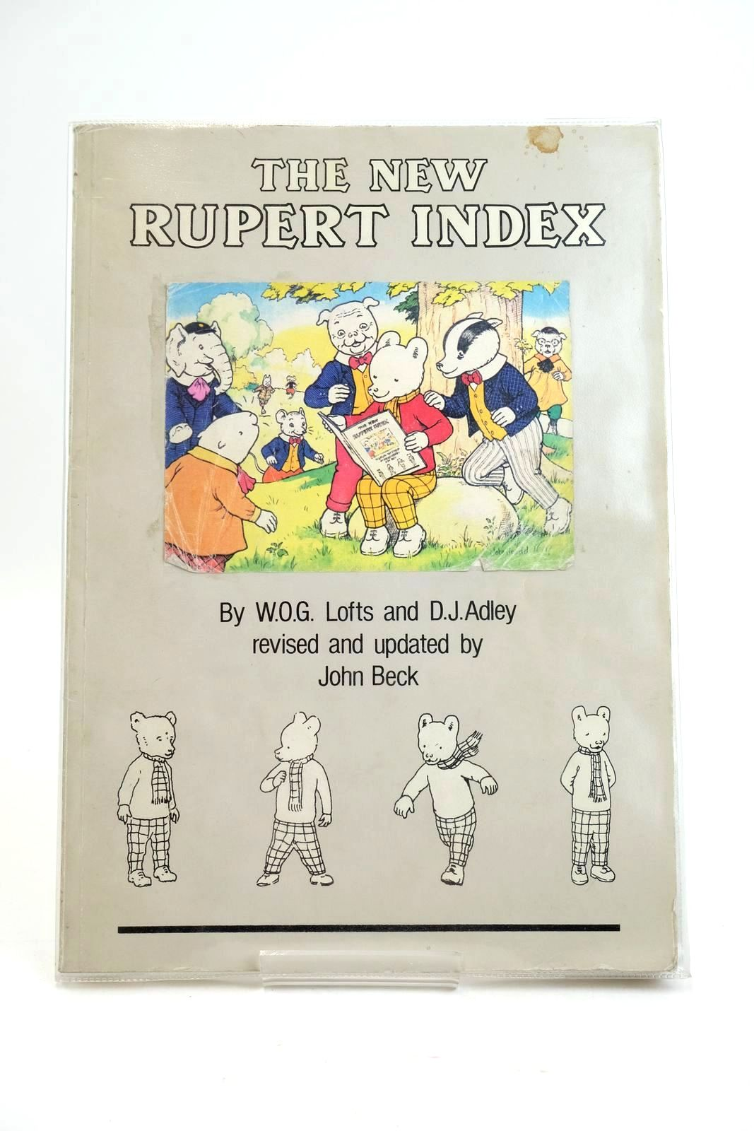 Photo of THE NEW RUPERT INDEX written by Lofts, W.O.G. Adley, D.J. Beck, John published by John Beck (STOCK CODE: 1319486)  for sale by Stella & Rose's Books