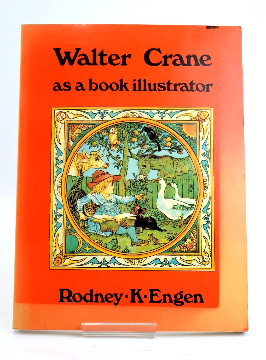 Photo of WALTER CRANE AS A BOOK ILLUSTRATOR written by Engen, Rodney K. published by Academy Editions (STOCK CODE: 1319489)  for sale by Stella & Rose's Books