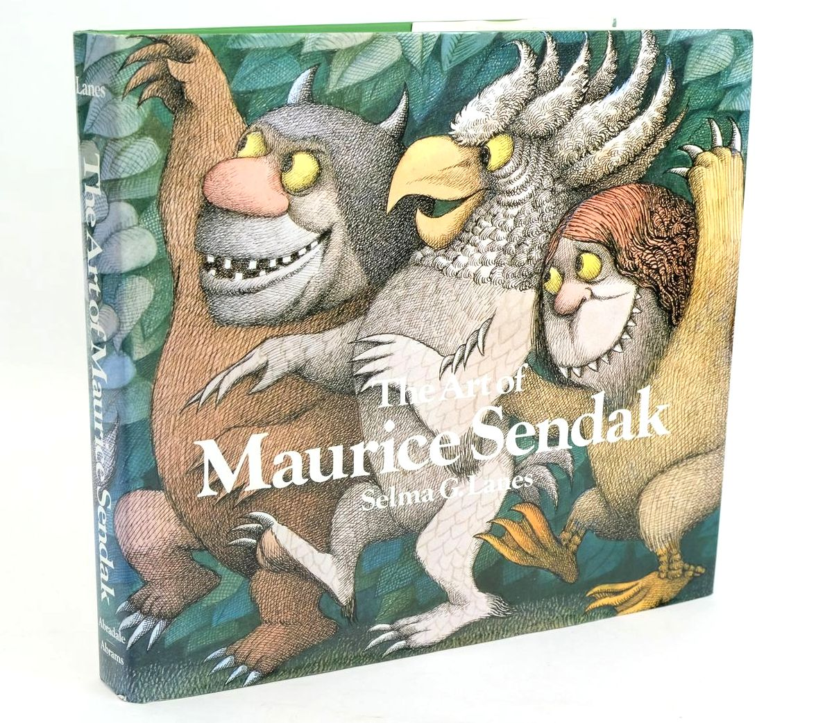 Photo of THE ART OF MAURICE SENDAK written by Lanes, Selma G. illustrated by Sendak, Maurice published by Harry N. Abrams (STOCK CODE: 1319491)  for sale by Stella & Rose's Books