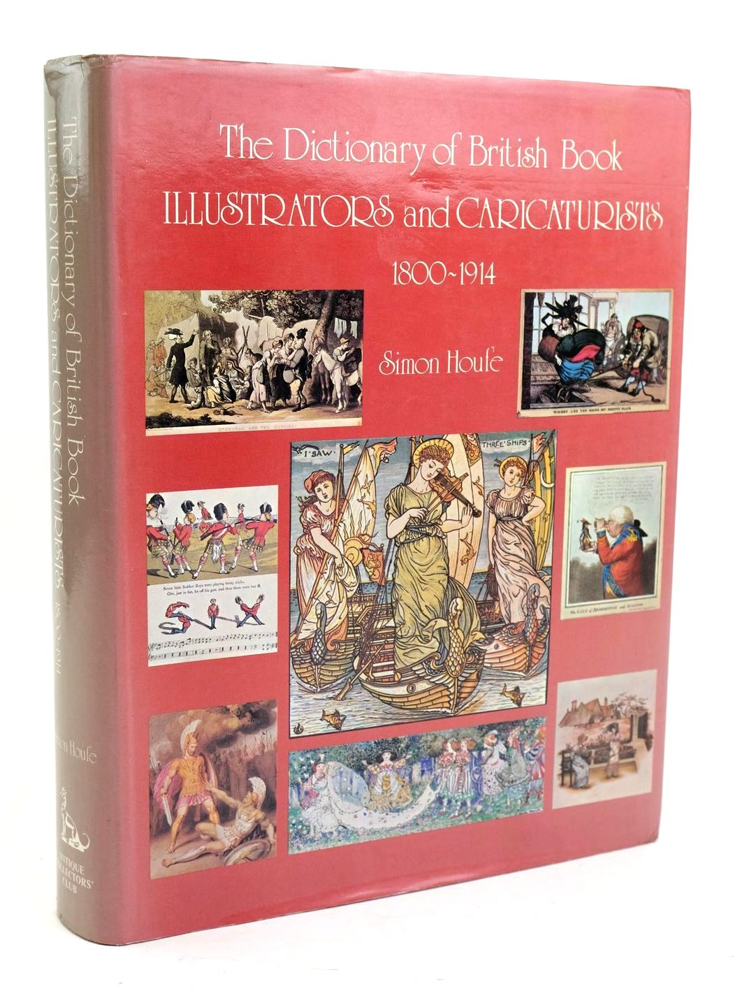 Photo of THE DICTIONARY OF BRITISH BOOK ILLUSTRATORS AND CARICATURISTS 1800-1914- Stock Number: 1319492