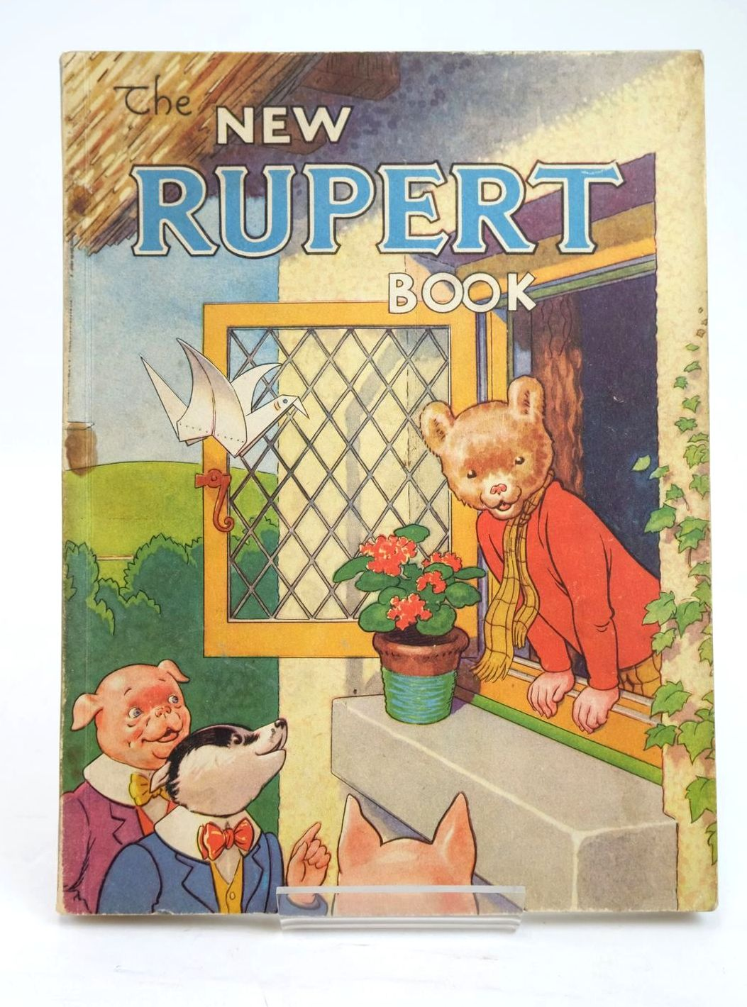 Photo of RUPERT ANNUAL 1946 - THE NEW RUPERT BOOK written by Bestall, Alfred illustrated by Bestall, Alfred published by Daily Express (STOCK CODE: 1319496)  for sale by Stella & Rose's Books