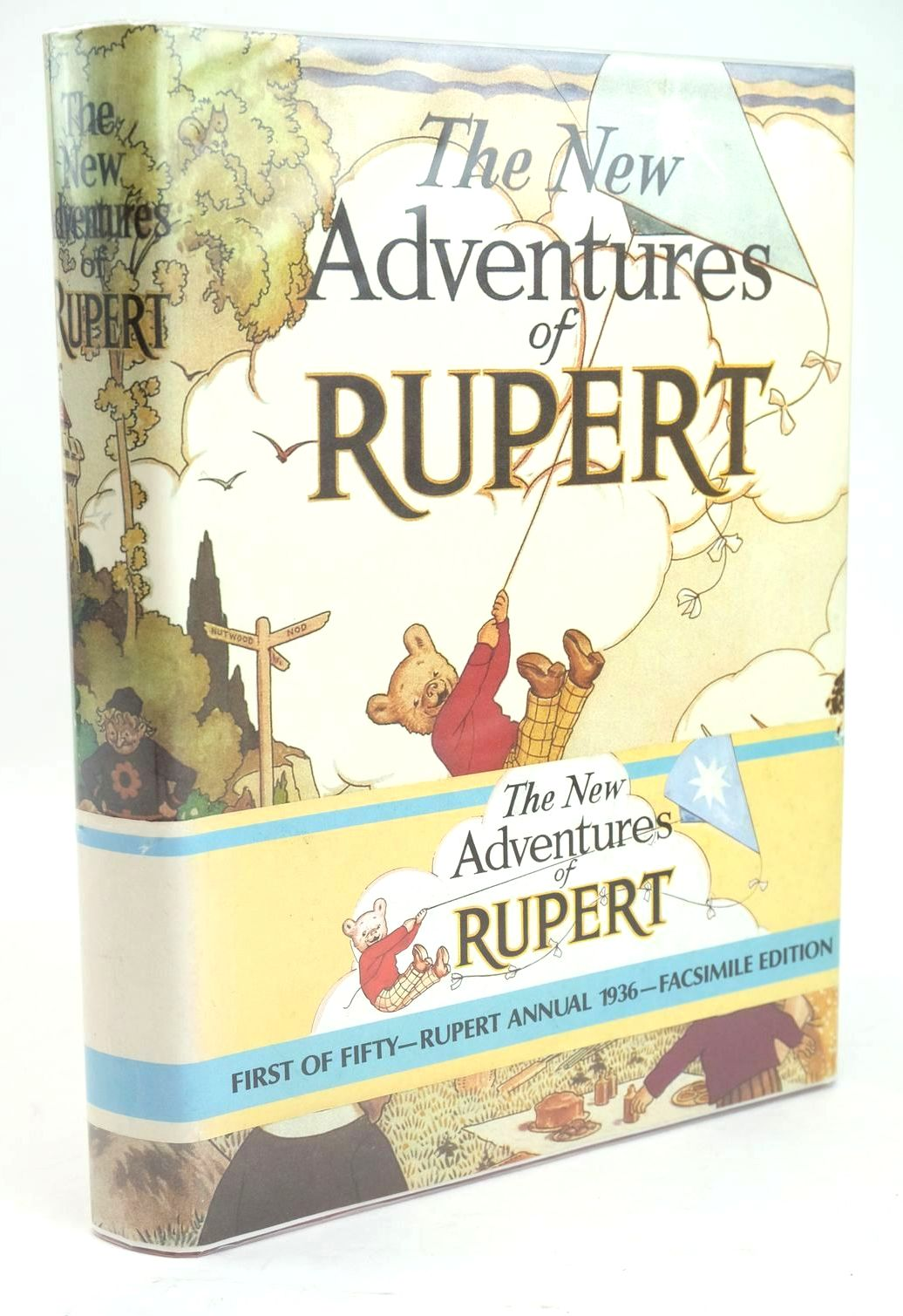 Photo of RUPERT ANNUAL 1936 (FACSIMILE) - THE NEW ADVENTURES OF RUPERT written by Bestall, Alfred illustrated by Bestall, Alfred published by Daily Express (STOCK CODE: 1319499)  for sale by Stella & Rose's Books