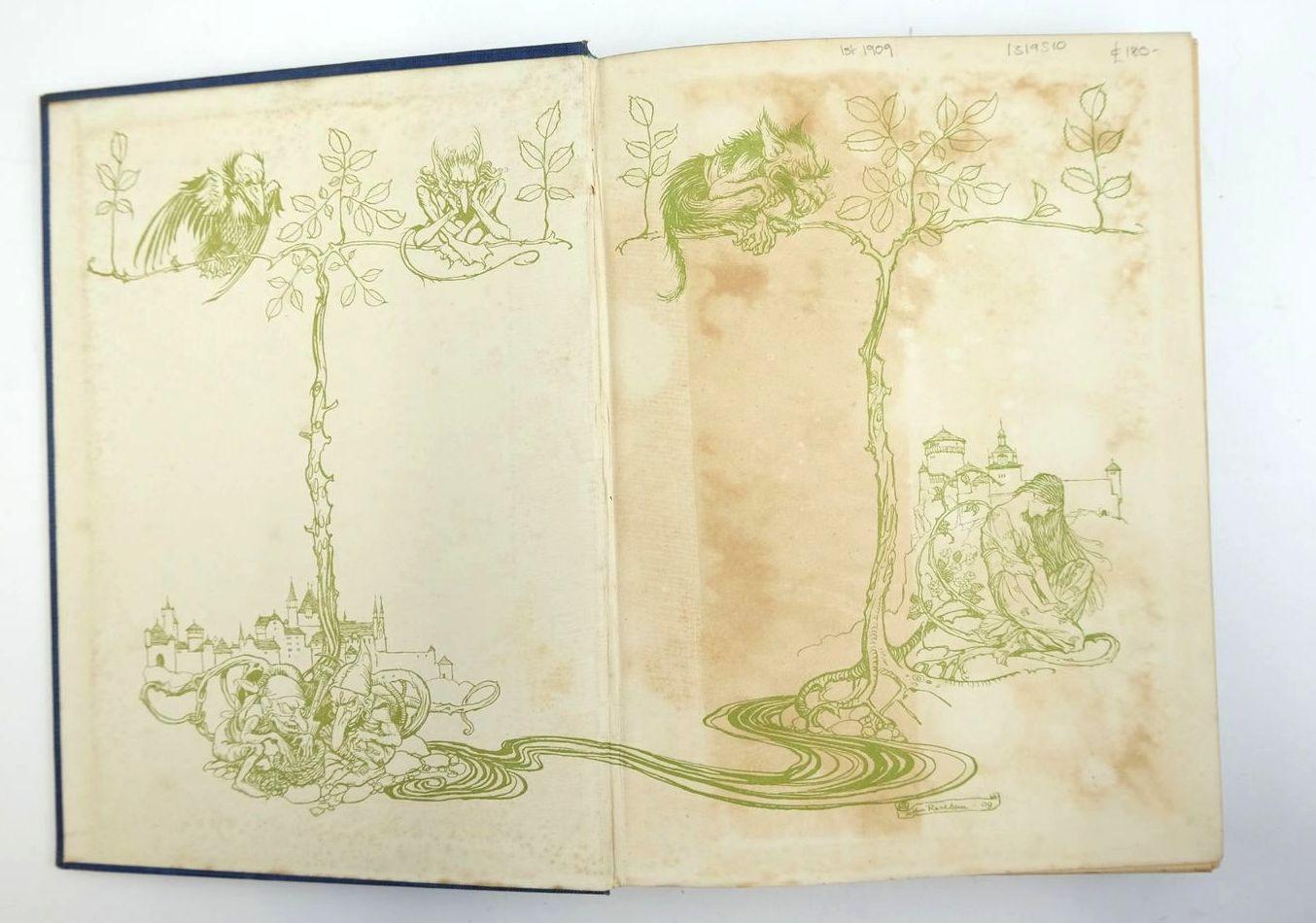 Photo of UNDINE written by De La Motte Fouque, Friedrich Courtney, W.L. illustrated by Rackham, Arthur published by William Heinemann (STOCK CODE: 1319510)  for sale by Stella & Rose's Books