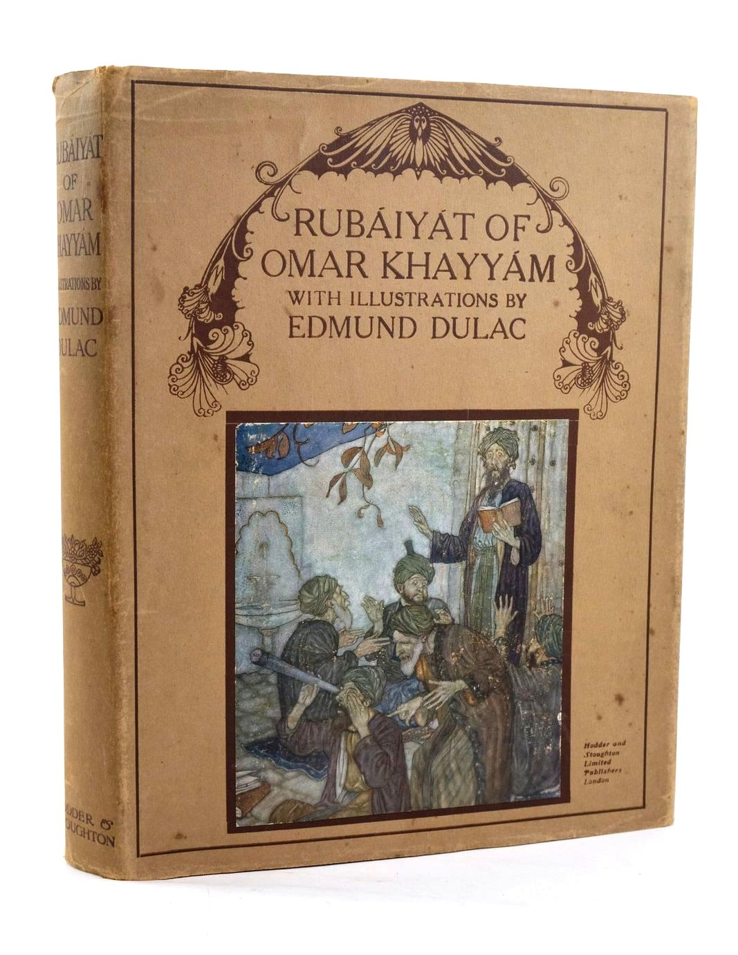 Photo of RUBAIYAT OF OMAR KHAYYAM written by Khayyam, Omar Fitzgerald, Edward illustrated by Dulac, Edmund published by Hodder & Stoughton (STOCK CODE: 1319525)  for sale by Stella & Rose's Books