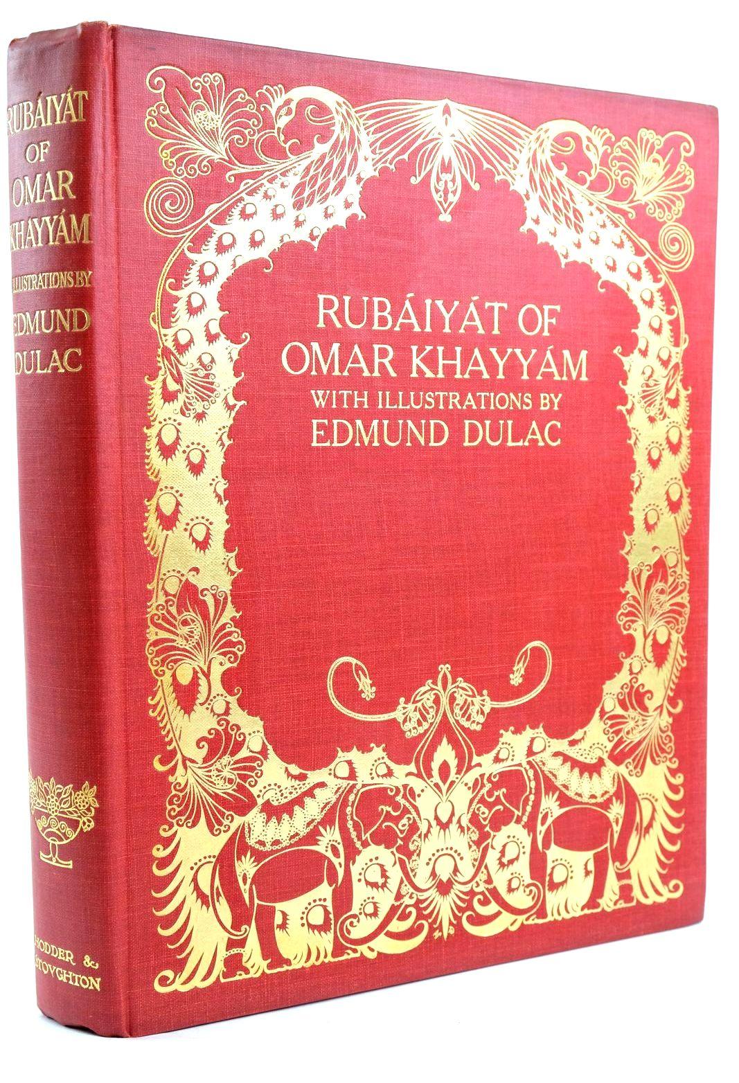 Photo of RUBAIYAT OF OMAR KHAYYAM written by Khayyam, Omar Fitzgerald, Edward illustrated by Dulac, Edmund published by Hodder & Stoughton (STOCK CODE: 1319525)  for sale by Stella & Rose's Books
