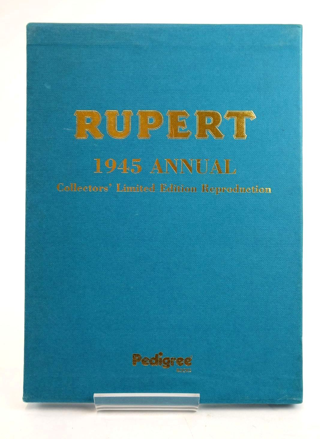 Photo of RUPERT ANNUAL 1945 (FACSIMILE) - A NEW RUPERT BOOK written by Bestall, Alfred illustrated by Bestall, Alfred published by Pedigree Books Limited (STOCK CODE: 1319531)  for sale by Stella & Rose's Books