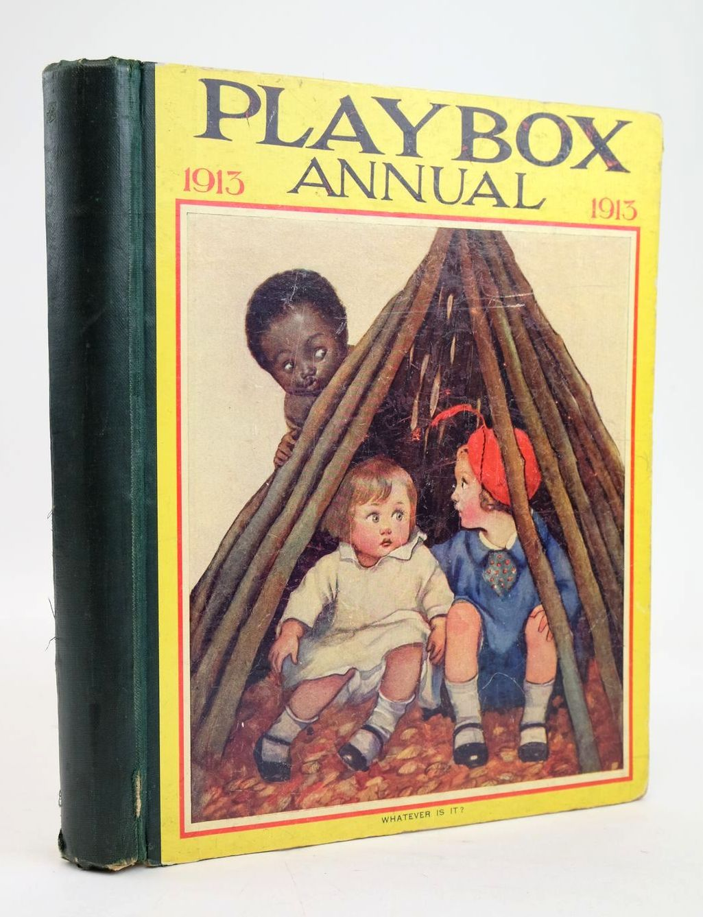 Photo of PLAYBOX ANNUAL 1913 illustrated by Cash, S.J. Cowham, Hilda Taylor, E.M. et al.,  published by The Amalgamated Press (STOCK CODE: 1319578)  for sale by Stella & Rose's Books