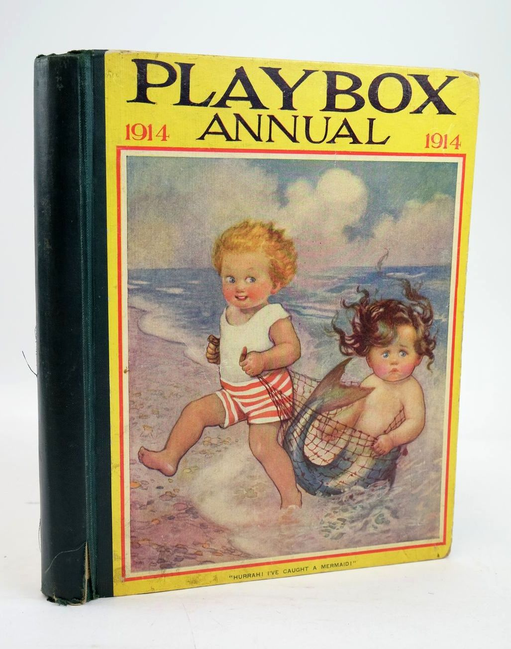 Photo of PLAYBOX ANNUAL 1914 illustrated by Wain, Louis et al.,  published by The Amalgamated Press (STOCK CODE: 1319579)  for sale by Stella & Rose's Books