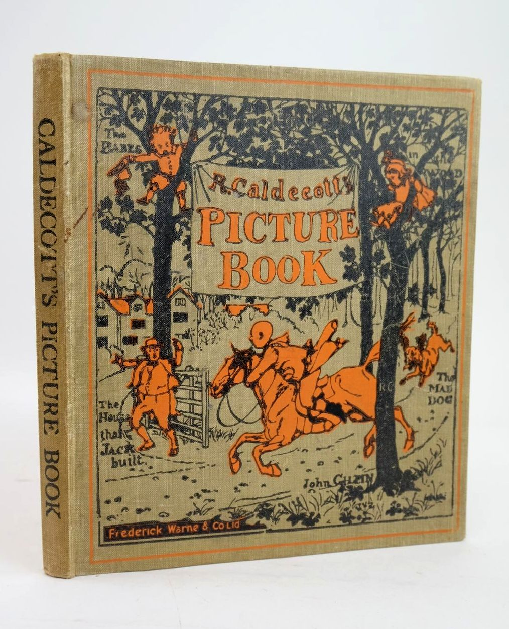 Photo of R. CALDECOTT'S PICTURE BOOK illustrated by Caldecott, Randolph published by Frederick Warne & Co Ltd. (STOCK CODE: 1319581)  for sale by Stella & Rose's Books
