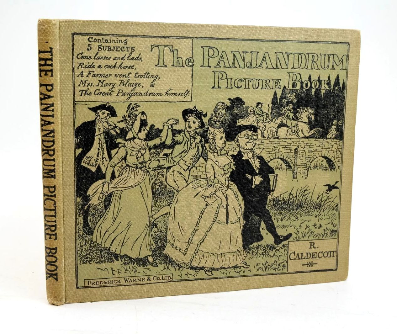 Photo of THE PANJANDRUM PICTURE BOOK illustrated by Caldecott, Randolph published by Frederick Warne & Co Ltd. (STOCK CODE: 1319582)  for sale by Stella & Rose's Books