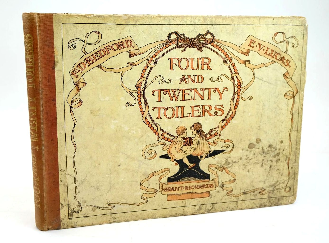 Photo of FOUR AND TWENTY TOILERS written by Lucas, E.V. illustrated by Bedford, F.D. published by Grant Richards (STOCK CODE: 1319584)  for sale by Stella & Rose's Books