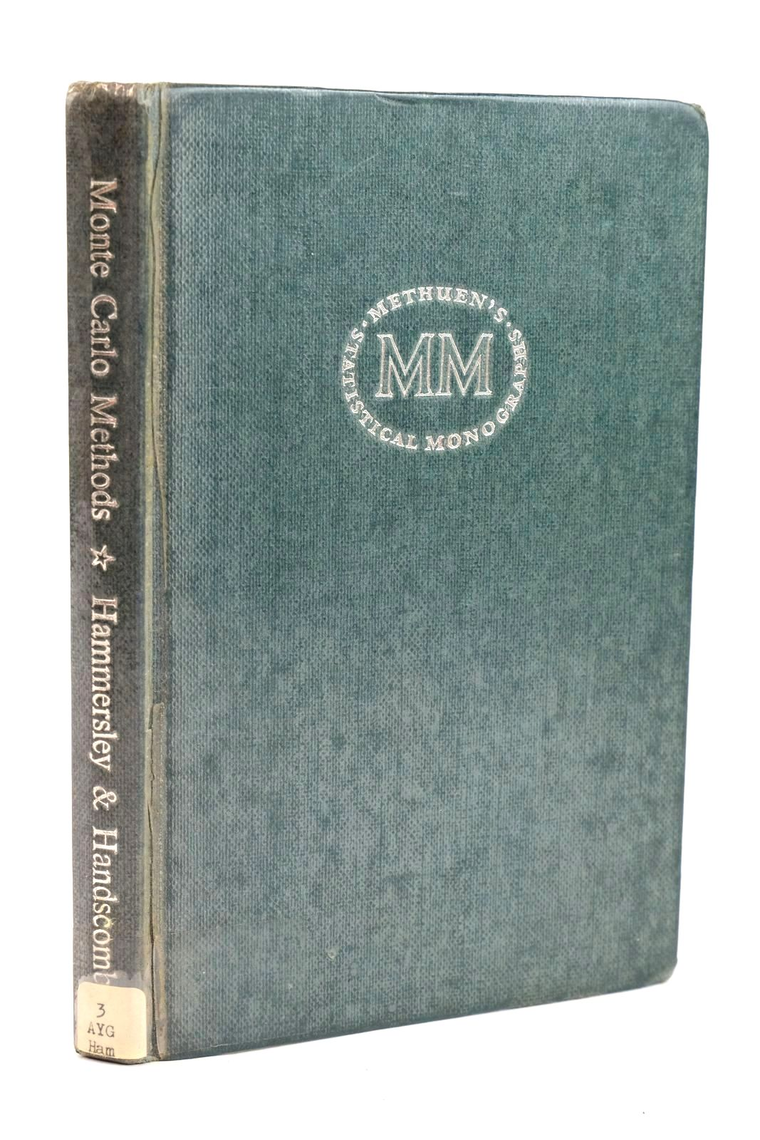 Photo of MONTE CARLO METHODS written by Hammersley, J.M. Handscomb, D.C. published by Methuen & Co. Ltd. (STOCK CODE: 1319607)  for sale by Stella & Rose's Books