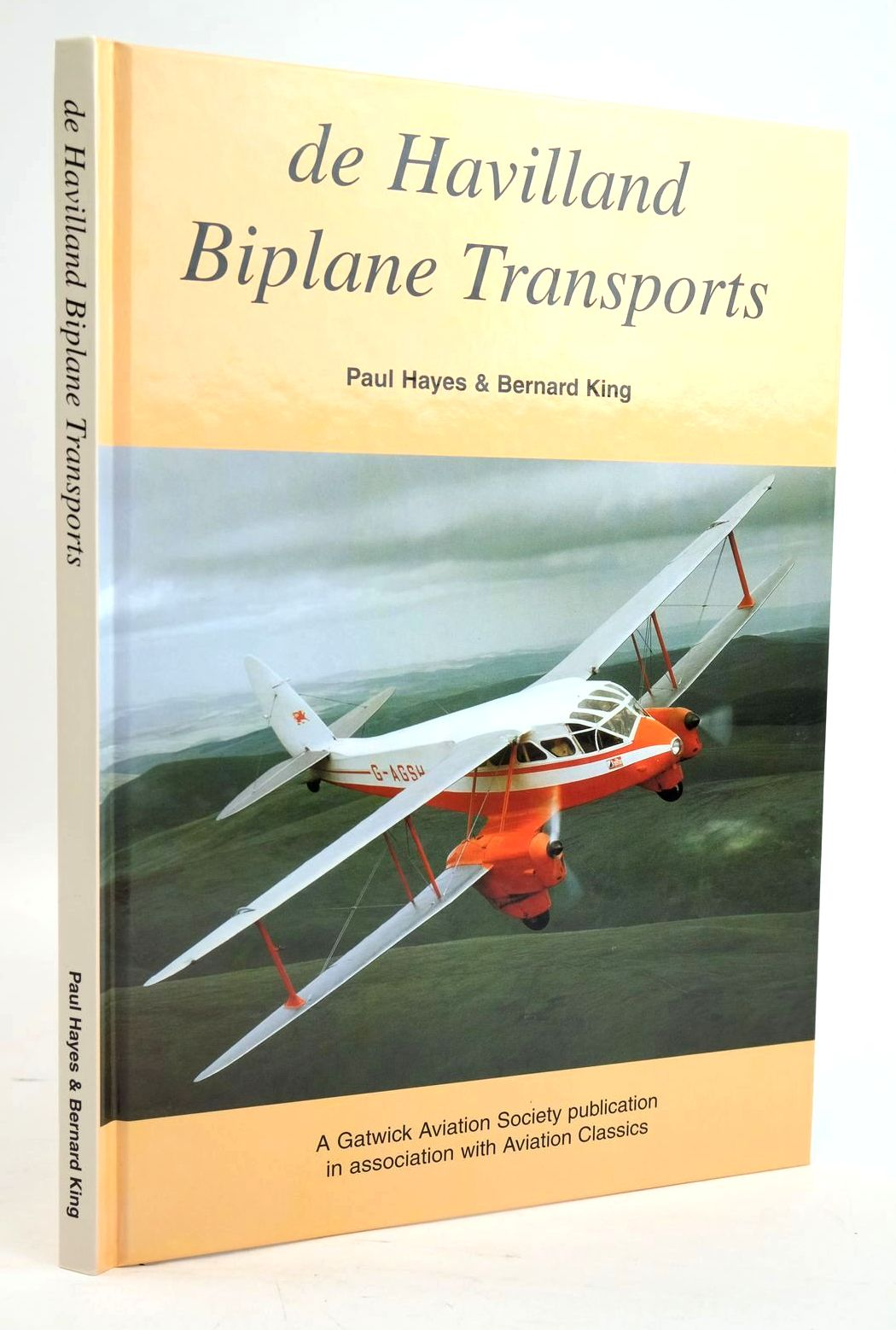 Photo of DE HAVILLAND BIPLANE TRANSPORTS written by Hayes, Paul King, Bernard published by Gatwick Aviation Society (STOCK CODE: 1319614)  for sale by Stella & Rose's Books