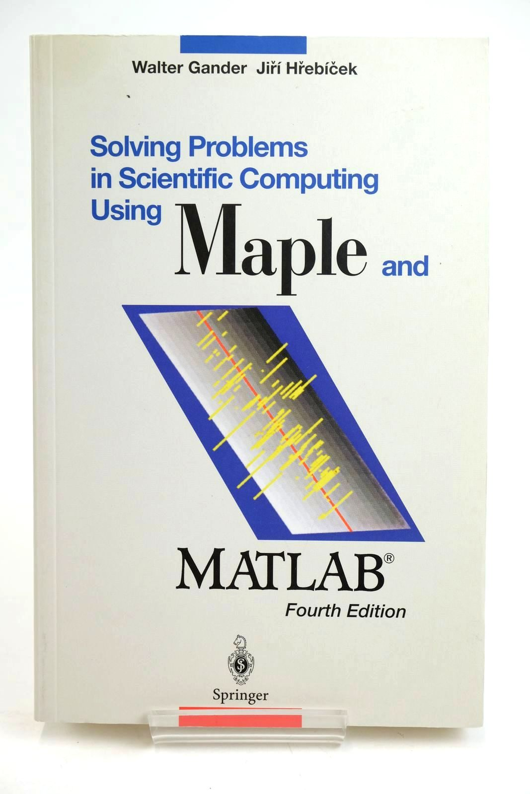 Photo of SOLVING PROBLEMS IN SCIENTIFIC COMPUTING USING MAPLE AND MATLAB- Stock Number: 1319627