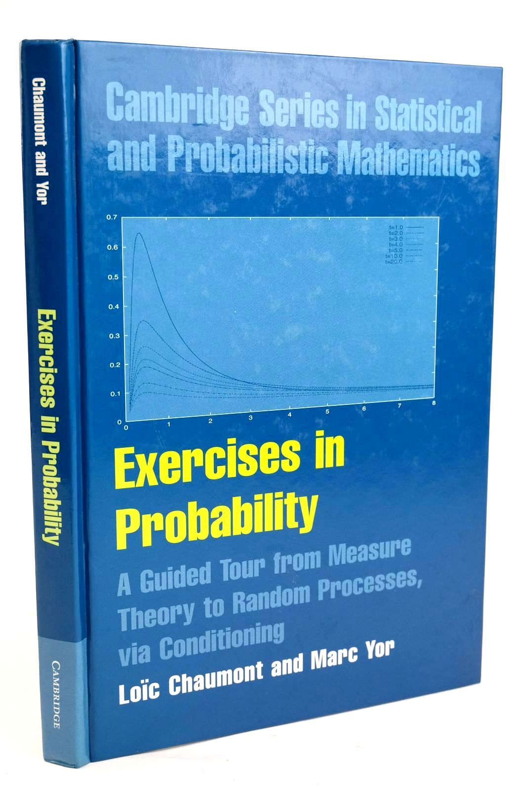 Photo of EXERCISES IN PROBABILITY- Stock Number: 1319628
