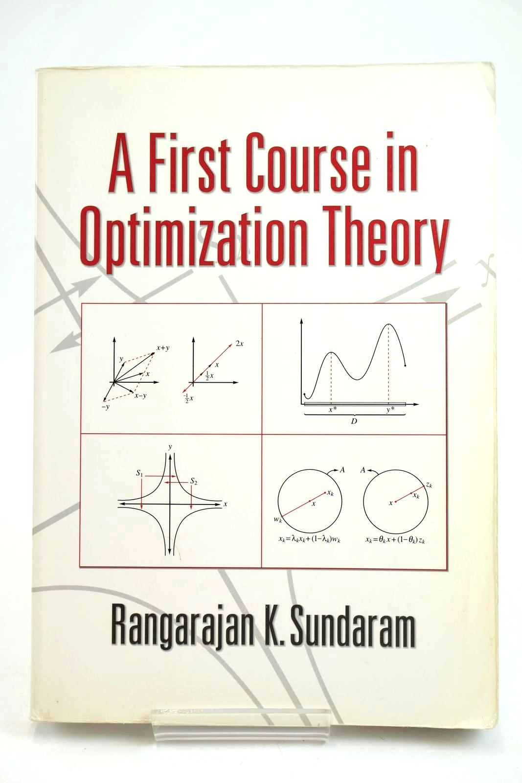 Photo of A FIRST COURSE IN OPTIMIZATION THEORY- Stock Number: 1319629