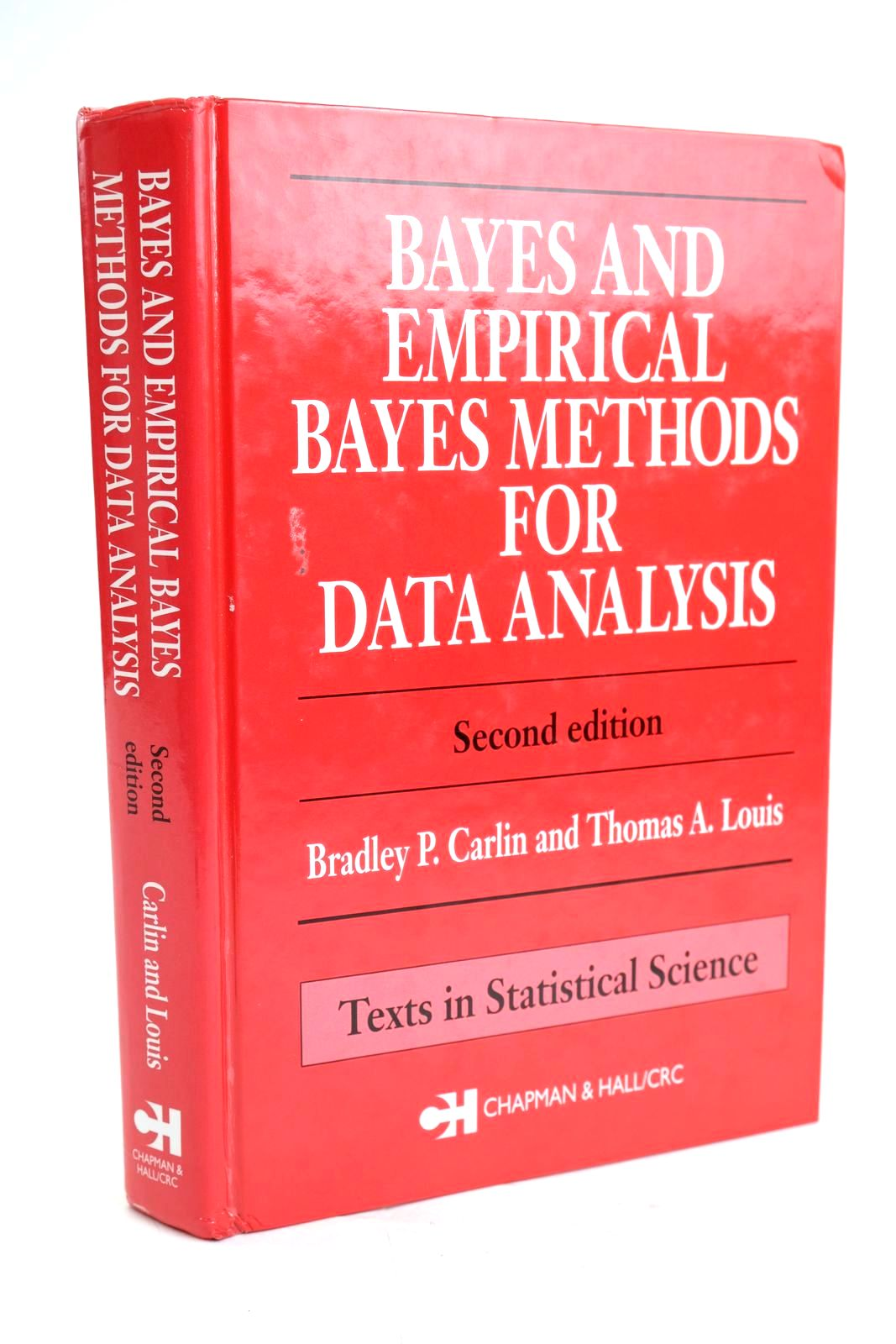 Photo of BAYES AND EMPIRICAL BAYES METHODS FOR DATA ANALYSIS written by Carlin, Bradley P. Louis, Thomas A. published by Chapman & Hall/Crc (STOCK CODE: 1319630)  for sale by Stella & Rose's Books