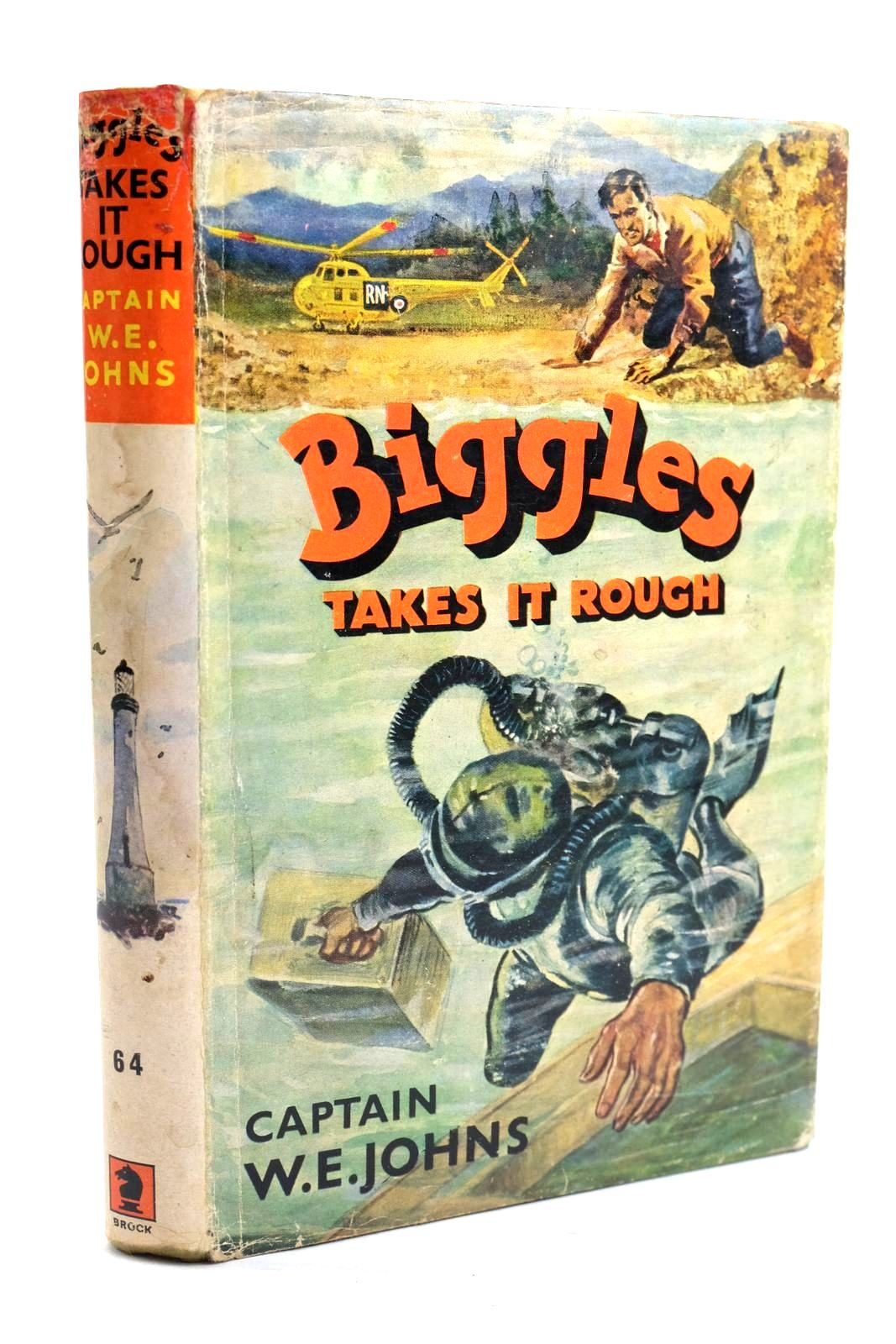 Photo of BIGGLES TAKES IT ROUGH written by Johns, W.E. illustrated by Stead, Leslie published by Brockhampton Press (STOCK CODE: 1319725)  for sale by Stella & Rose's Books