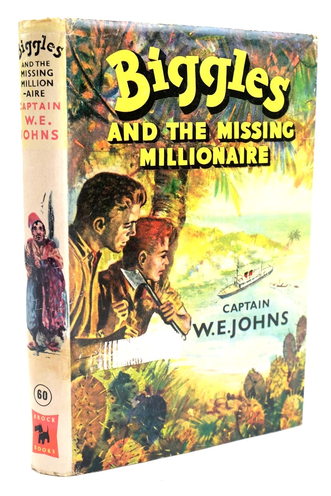 Photo of BIGGLES AND THE MISSING MILLIONAIRE written by Johns, W.E. illustrated by Stead, Leslie published by Brockhampton Press Ltd. (STOCK CODE: 1319726)  for sale by Stella & Rose's Books