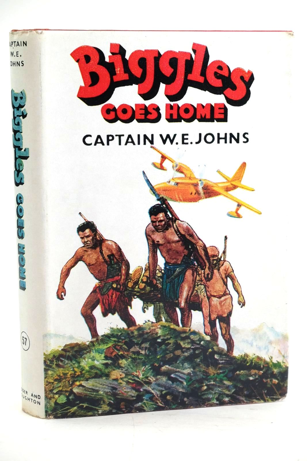Photo of BIGGLES GOES HOME written by Johns, W.E. illustrated by Stead,  published by Hodder & Stoughton (STOCK CODE: 1319738)  for sale by Stella & Rose's Books