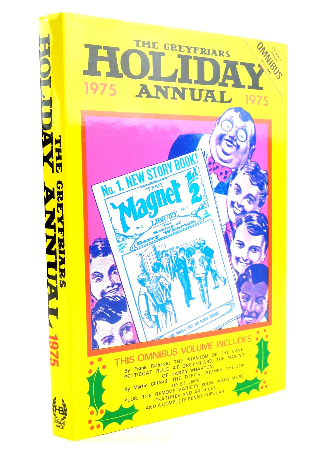 Photo of THE GREYFRIARS HOLIDAY ANNUAL 1975 written by Richards, Frank Clifford, Martin Bayne, Peter et al,  published by Howard Baker Press (STOCK CODE: 1319781)  for sale by Stella & Rose's Books