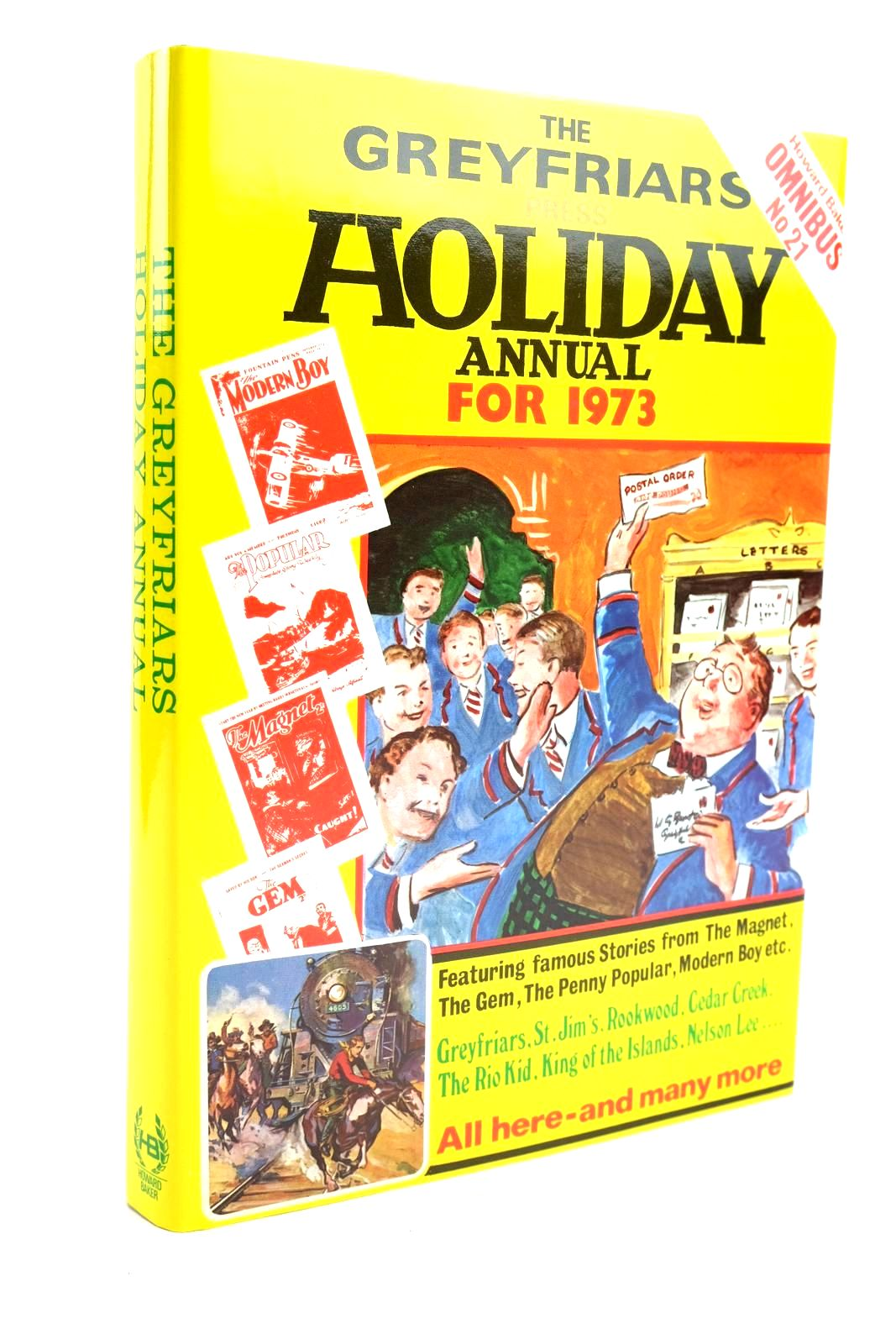 Photo of THE GREYFRIARS HOLIDAY ANNUAL FOR 1973 written by Richards, Frank Brooks, Edwy Searles published by Howard Baker (STOCK CODE: 1319782)  for sale by Stella & Rose's Books
