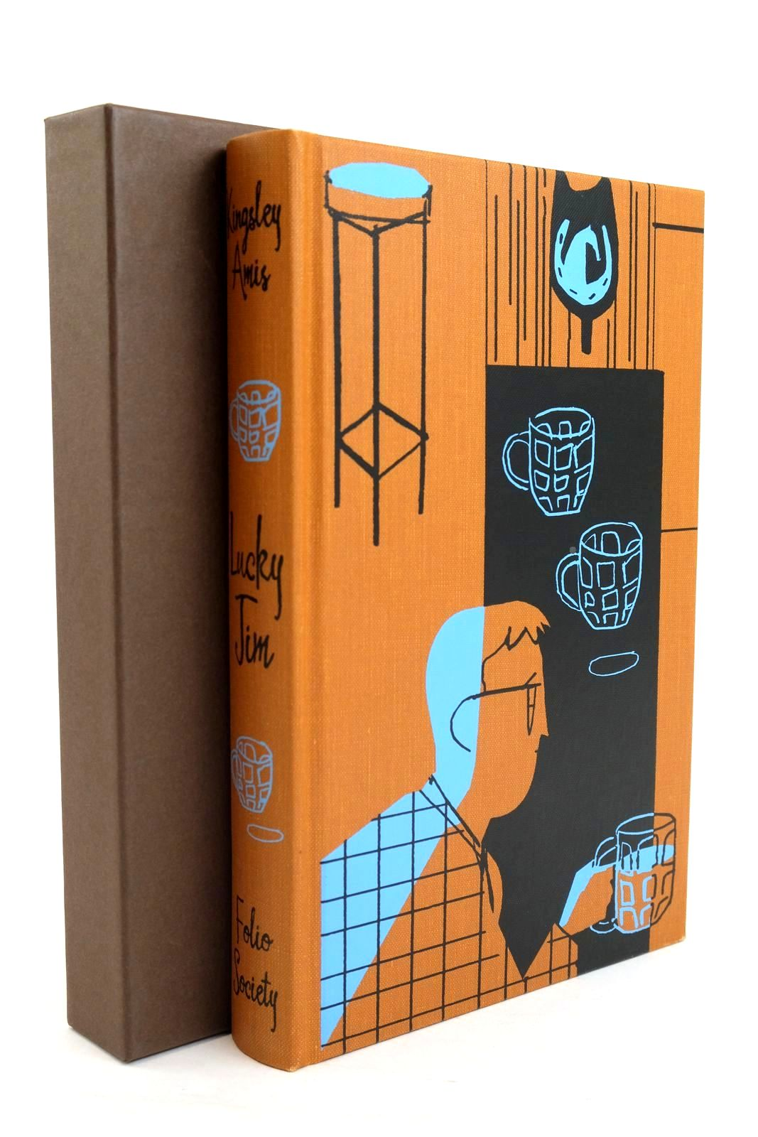 Photo of LUCKY JIM written by Amis, Kingsley illustrated by Allen, A. Richard published by Folio Society (STOCK CODE: 1319799)  for sale by Stella & Rose's Books