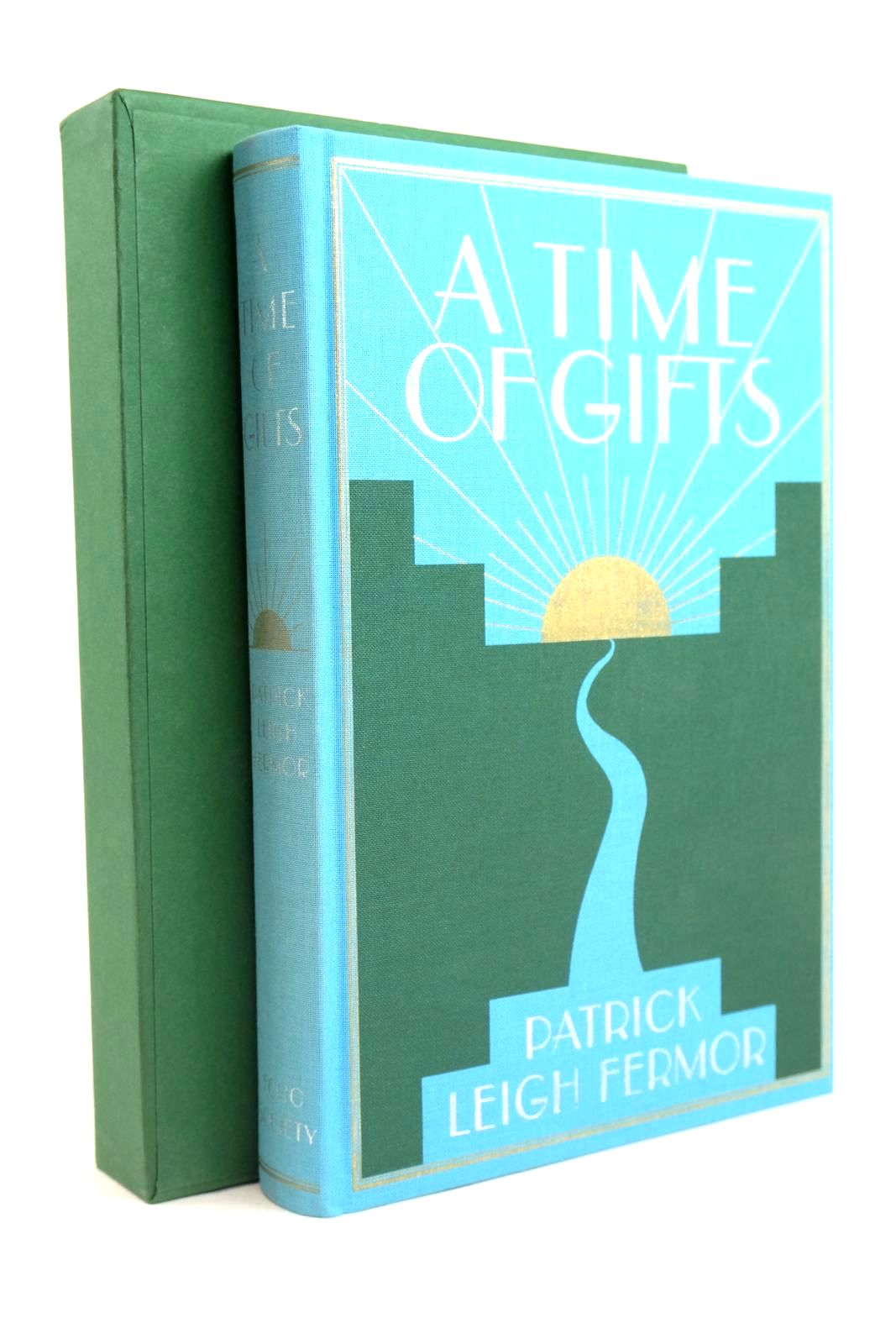 Photo of A TIME OF GIFTS written by Fermor, Patrick Leigh illustrated by Whistler, Daniel published by Folio Society (STOCK CODE: 1319819)  for sale by Stella & Rose's Books