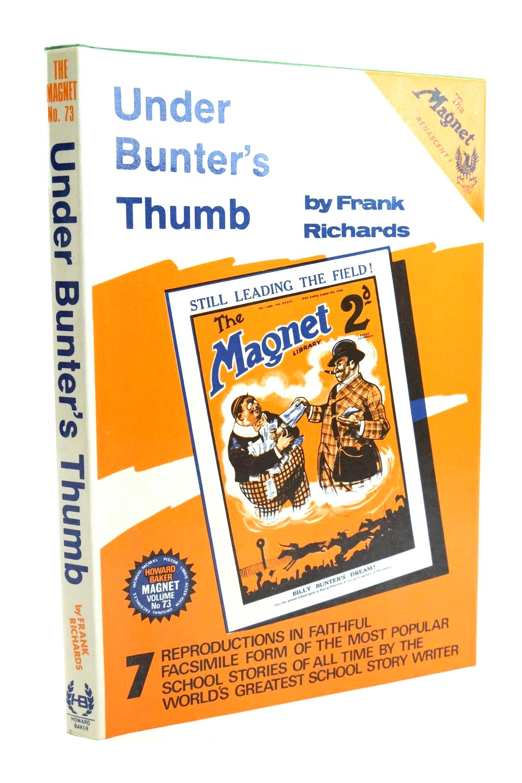 Photo of UNDER BUNTER'S THUMB written by Richards, Frank published by Howard Baker (STOCK CODE: 1319850)  for sale by Stella & Rose's Books