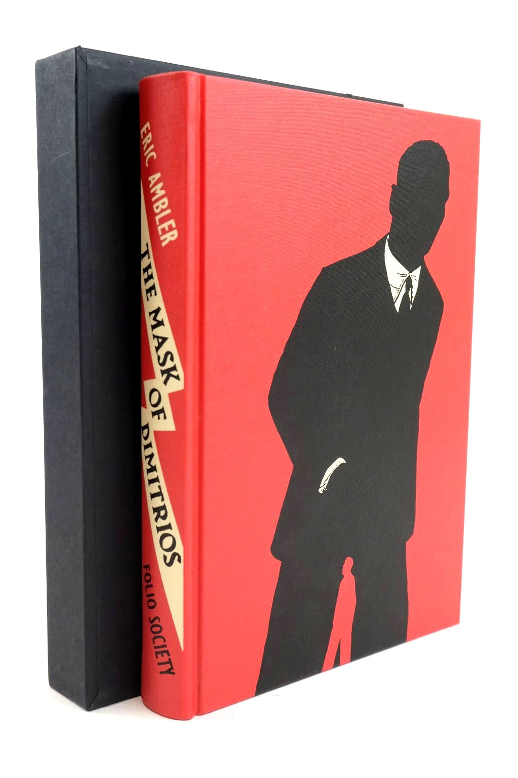 Photo of THE MASK OF DIMITRIOS written by Ambler, Eric illustrated by Blow, Paul published by Folio Society (STOCK CODE: 1319873)  for sale by Stella & Rose's Books
