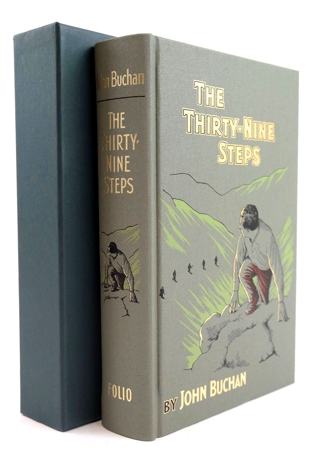Photo of THE THIRTY-NINE STEPS AND THE POWER-HOUSE written by Buchan, John Lownie, Andrew illustrated by Hardcastle, Nick published by Folio Society (STOCK CODE: 1319876)  for sale by Stella & Rose's Books