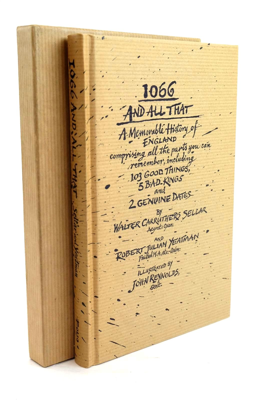 Photo of 1066 AND ALL THAT: A MEMORABLE HISTORY OF ENGLAND- Stock Number: 1319879