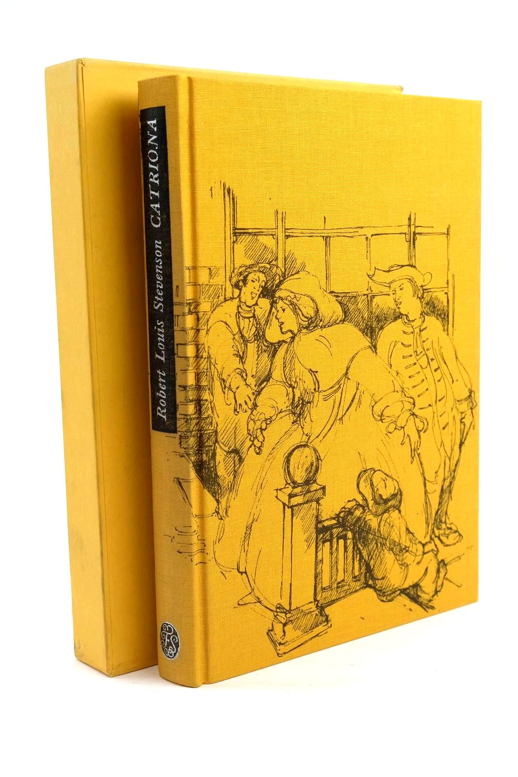 Photo of CATRIONA written by Stevenson, Robert Louis